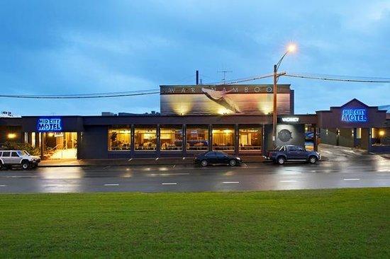 Mid City Motel Warrnambool : External from Raglan Parade