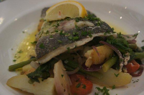 Kahuna : Sea bass parcel