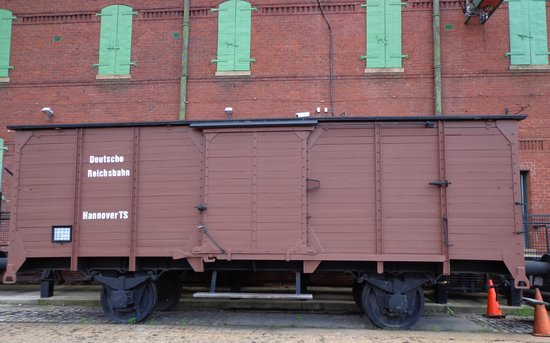 Virginia Holocaust Museum: Model transport train