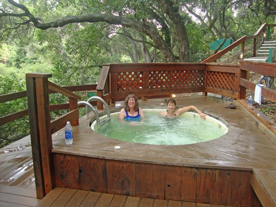 Sycamore Mineral Springs Resort And Spa Soaking In A Tub