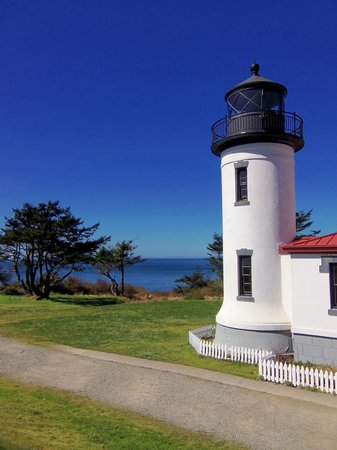 Fort Casey State Park: The Admiralty Head Lighthouse - March 31, 2013