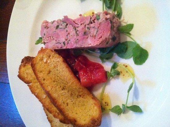Back Street Bistro: Ham hock terrine
