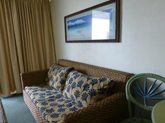 Hokele Suites Waikiki: 家具は綺麗ではありませんでしたが