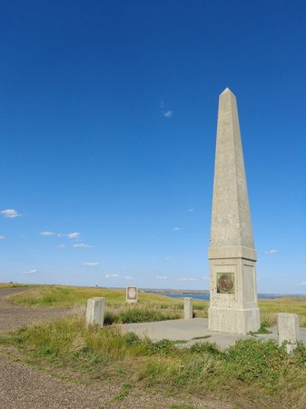 Mobridge, Dakota do Sul: Gedenkstele für Sakakawea