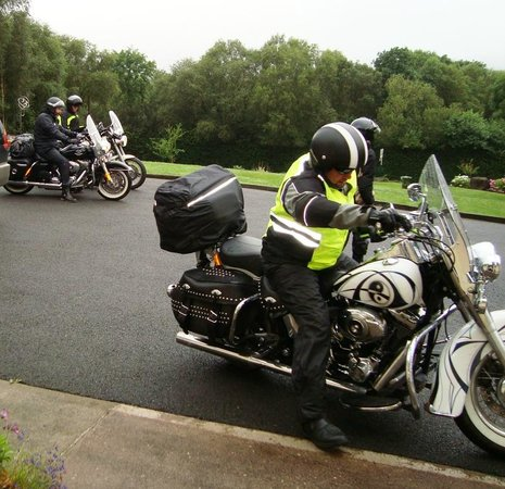 SheenView B&B: Bikers ready for the daily off