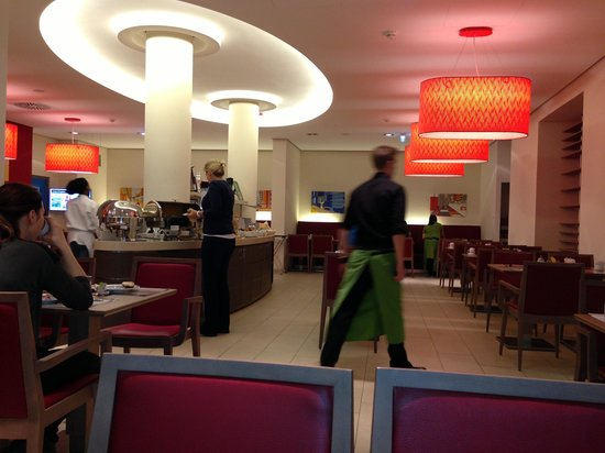 FourSide Hotel City Center Vienna: Breakfast Buffet area
