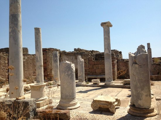 ‪Archaeological Site of Delos‬