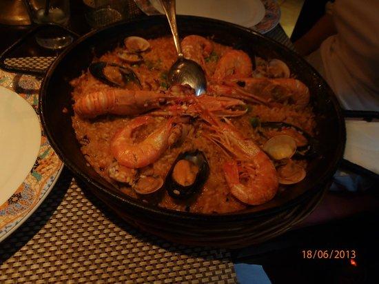 La Dentelliere : A heavenly seafood paella