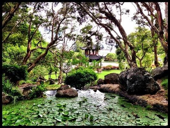 Four Seasons Resort Lana'i, The Lodge at Koele: Gardens!