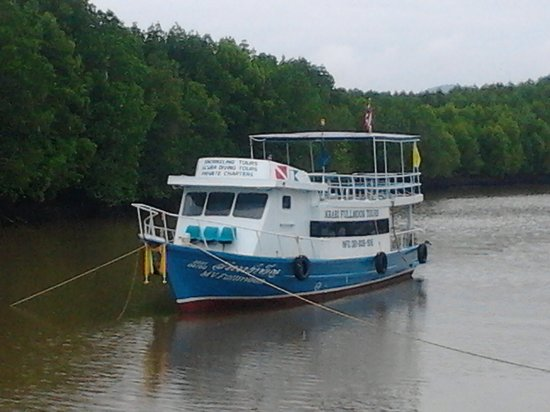 Krabi Fullmoon Tours: Our boat, redecorated May 2013