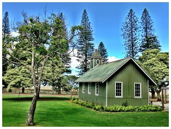 Four Seasons Resort Lana'i, The Lodge at Koele: beautiful chapel out front