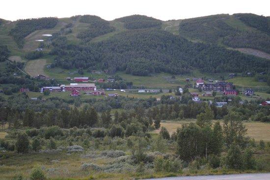 Vestlia Resort : Вид из окна гостиницы