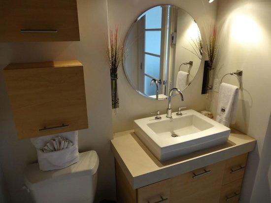 Les Lofts 1048: La salle de bain.
