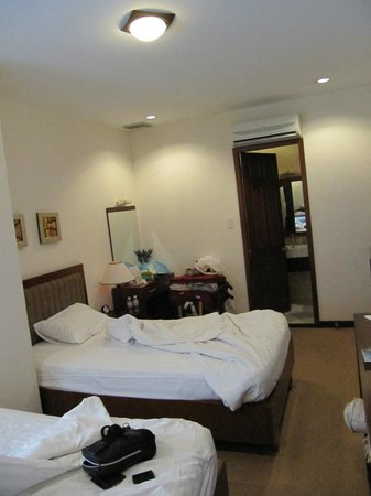 Lavender Central Hotel: Upgraded room view