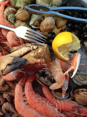 Restaurant Le Cise: frutties di mare