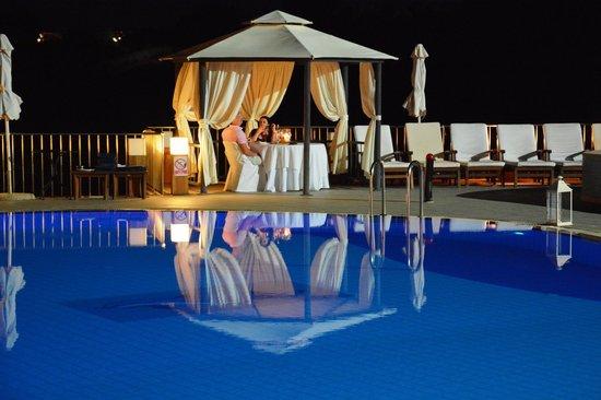 Regina Dell Acqua Resort: private dining