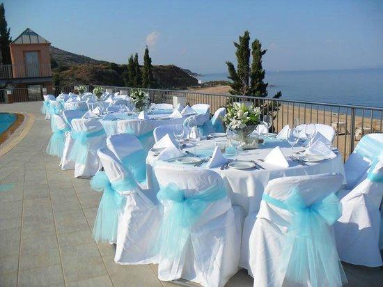 Regina Dell Acqua Resort: weddings by the pool