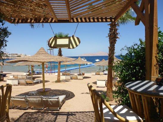Savoy Sharm El Sheikh: view from beach bar