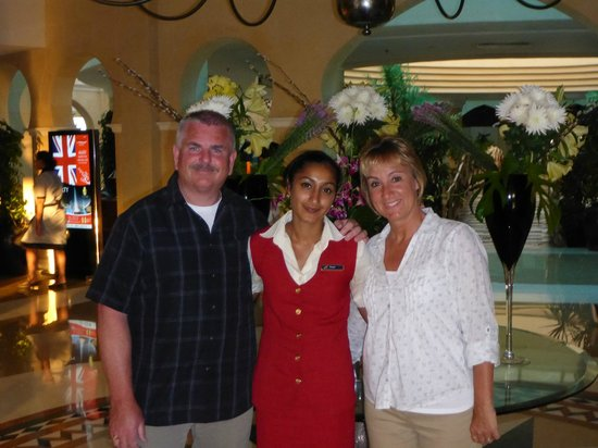 Savoy Sharm El Sheikh: Farah and her Happy Guests