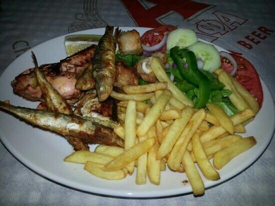 Rouvelas: Fish, fish and more fish.