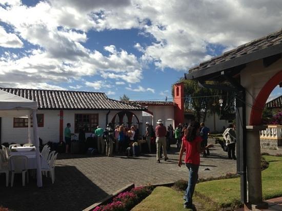 Hosteria San Carlos Tababela: Maranatha group