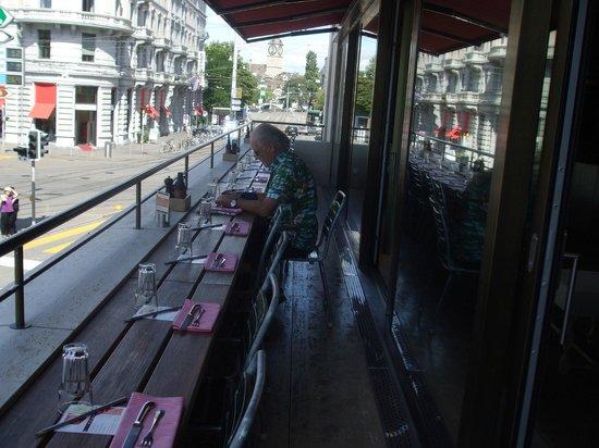 Sternen Grill: Balcony seats