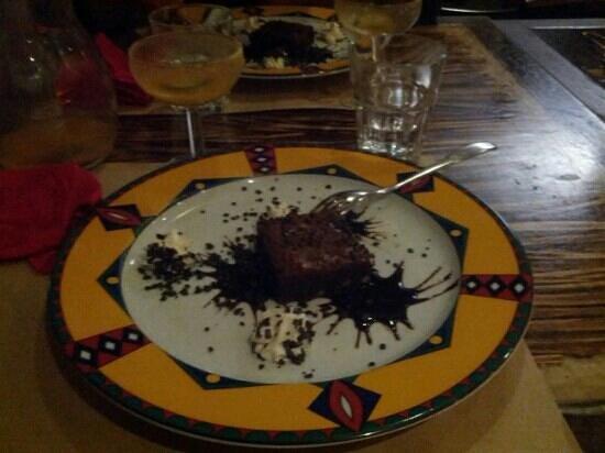 Mexicali: dolce tortino al cioccolato caldo