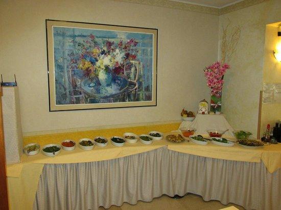 Hotel Fraderiana: Das super leckere Antipasti-Buffet