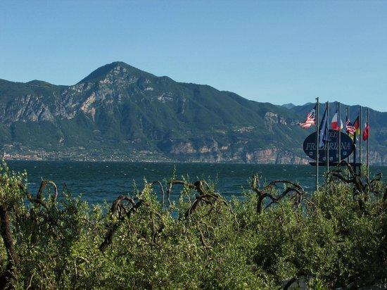 Hotel Fraderiana: Blick vom Hotel auf den Lago di Garda