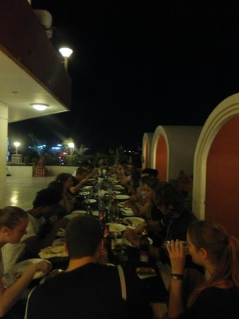 Madurai Residency : Our tuesday evening meals at the hotel