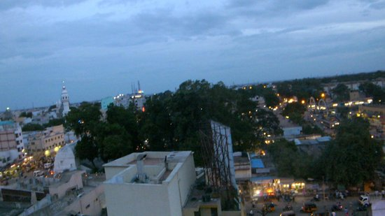 Madurai Residency : views from the rooftop of this hotel
