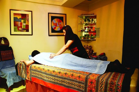 Thai massage at savoey picture of savoey hotel lahore for Nina g salon lahore