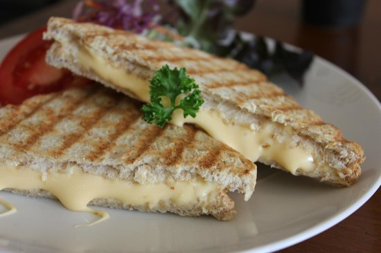 Connect Cafe: Grilled Cheese Sandwich