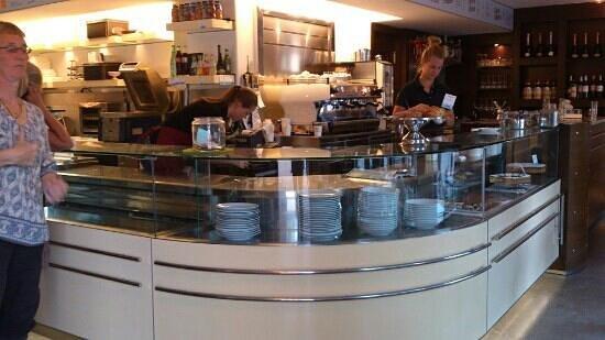 Skanor, Suède : Da Aldo coffee & restaurant.