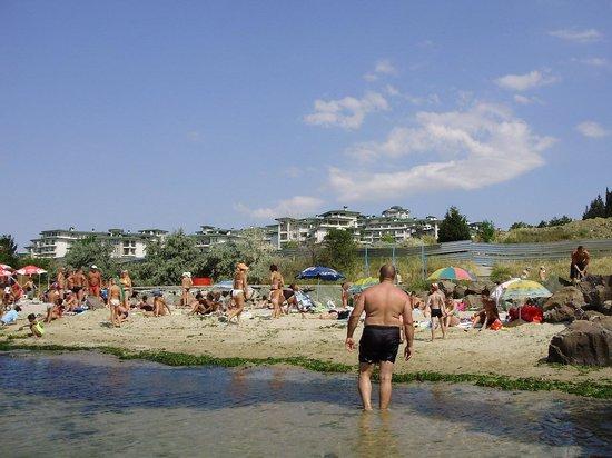Emerald Beach Resort & Spa: The beach and the hotel