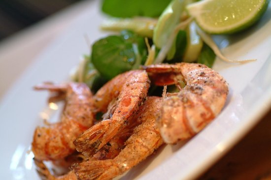 Rick Stein's Cafe : Salt and pepper prawns