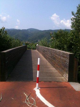 Ciclovia Conca Reatina: Ponte sul fiume Turano