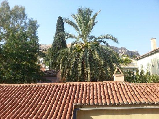 Adrian Hotel: Vue sur Acropole !