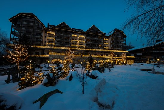 Park Gstaad: Grand Hotel Park, Gstaad Winter 2