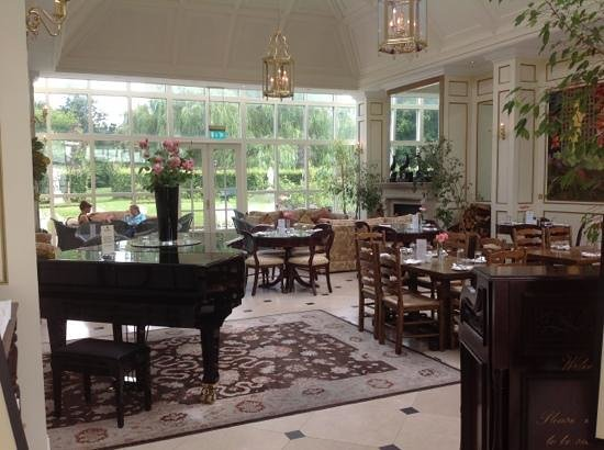 Barberstown Castle: tea rooms