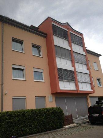Comfort Hotel Ulm Blaustein: building