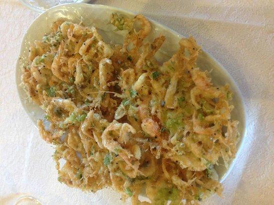 Ventorrillo del Chato: Tortillitas de camarones