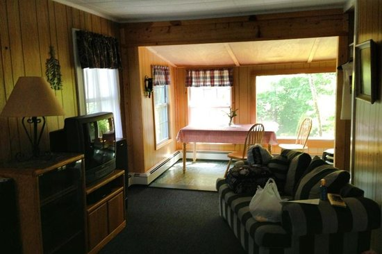 Green Village Cabins: Lounge