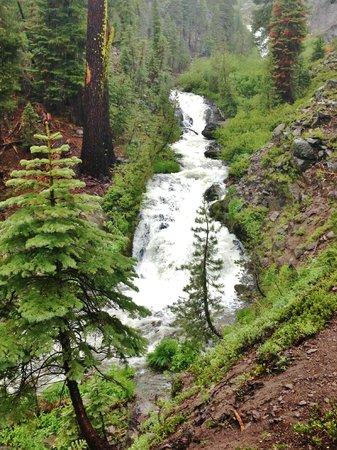 Kings Creek Falls: Another set of falls