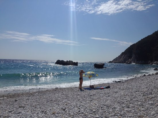 Victoria's Guest house: damouchari beach