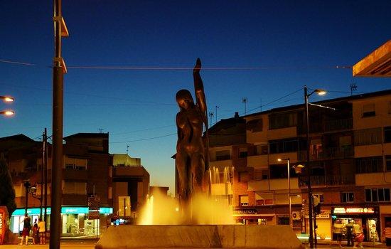 Hotel Los Galanes: La venus de Armilla