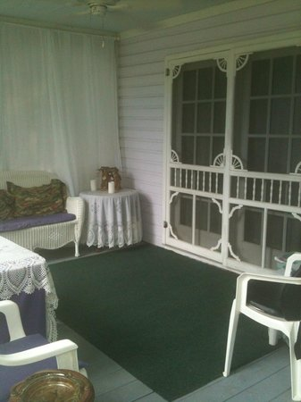 The Angel House Porch