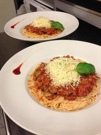 Wenduine, Belgia: Spaghetti Bolognaise