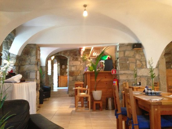 The Blue Beetroot - Restaurant: View from the couch :)