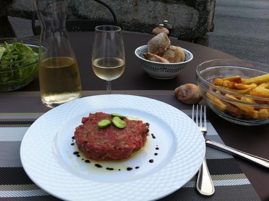 La Tete Noire : mon dîner en terrasse
